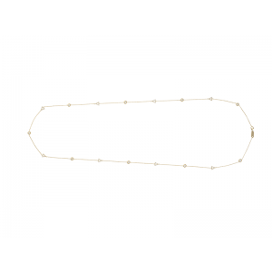 BY THE YARD TRIANGLE NECKLACE GOLD VERMEIL